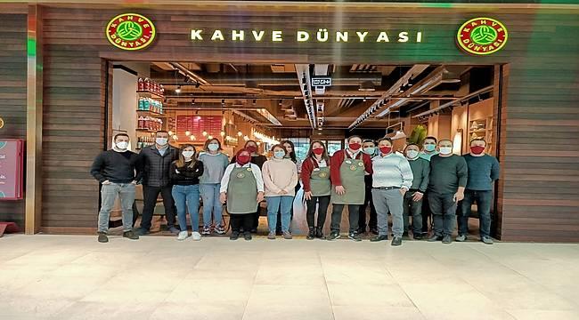 Kahve Dünyası Buyaka'da Açıldı
