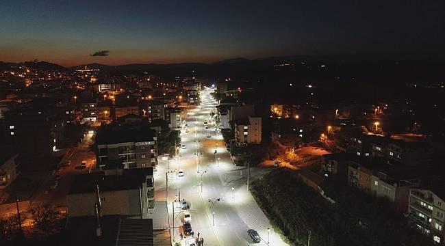 Manisa Büyükşehir Belediyesi prestijli caddelerine bir yenisini daha ekledi