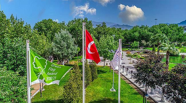Yeşil Bayrak ödülü bir kez daha İncilipınar Parkı'nın