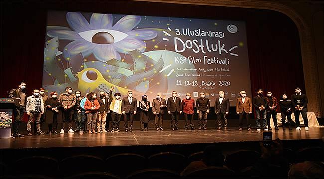 3. Uluslararası Dostluk Kısa Film Festivali'nde ödüller sahiplerini buldu