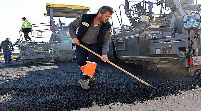 Aliağa Belediyesinden 2020'de 150 bin metrekarelik asfalt
