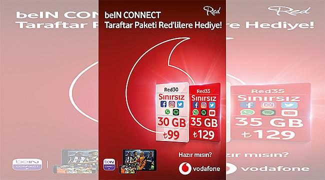 Vodafone Red'den beIN CONNECT ayrıcalıkları