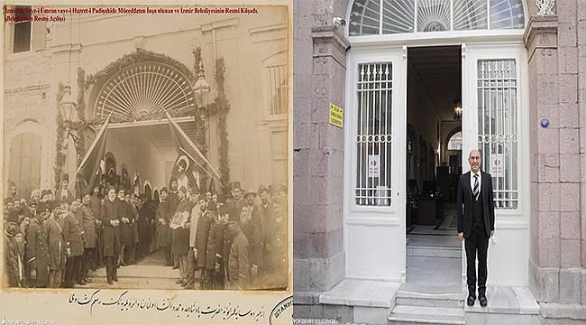 130 yıl sonra yeniden: İzmir Büyükşehir Belediyesi ilk hizmet binasına döndü