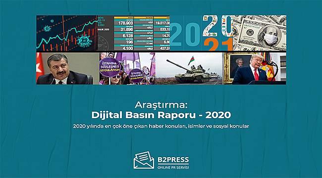 Araştırma: 2020'de dijital basında en çok hangi haberler yer aldı?