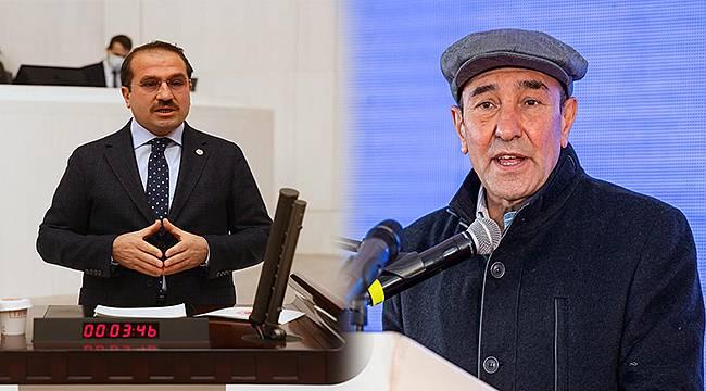 """AK Partili Kırkpınar'dan Tunç Soyer'e: """"Kostüm değiştirmekle çiftçinin yanında olunmaz"""""""