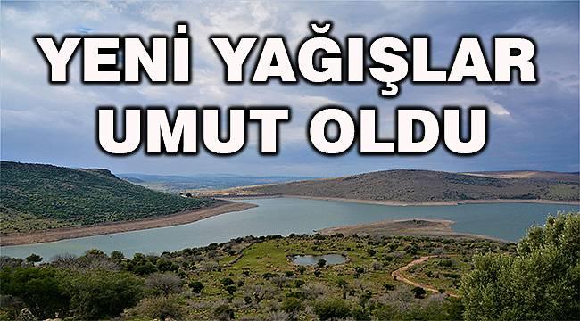 Aliağa'nın Güzelhisar Barajı'nda su seviyesi yükseliyor