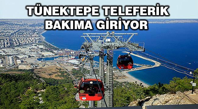 Antalya Büyükşehir'den duyuru: Tünektepe Teleferik bakıma giriyor