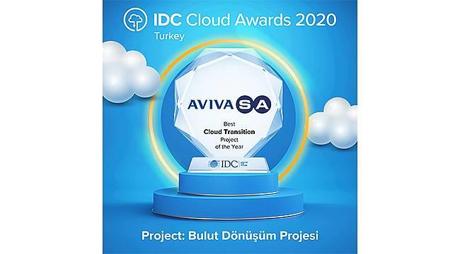 """AvivaSA'nın """"Bulut Dönüşüm Projesine"""" Birincilik Ödülü!"""