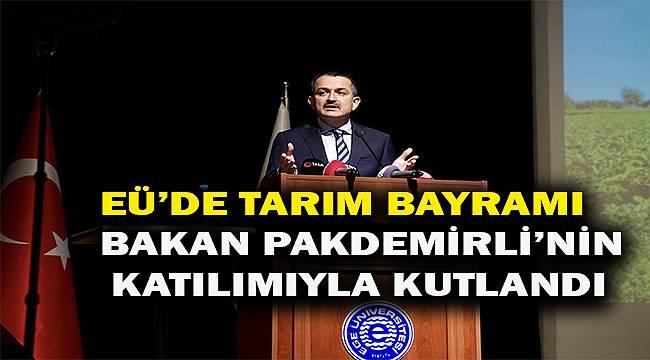 """Bakan Pakdemirli: """"Türkiye'nin tarımsal altyapısı sağlam"""""""