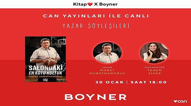 Boyner'in konuğu Murat Murathanoğlu 'Salondaki En Kötü Koltuk'u Anlatıyor!