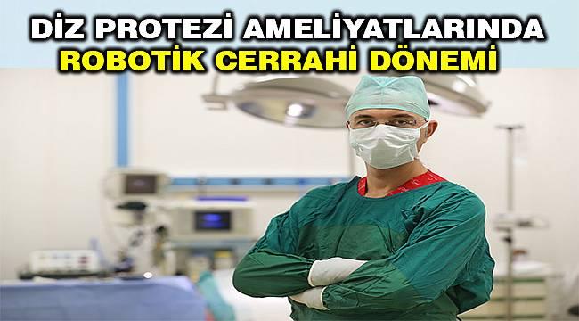 Diz protezi ameliyatlarında yeni teknoloji