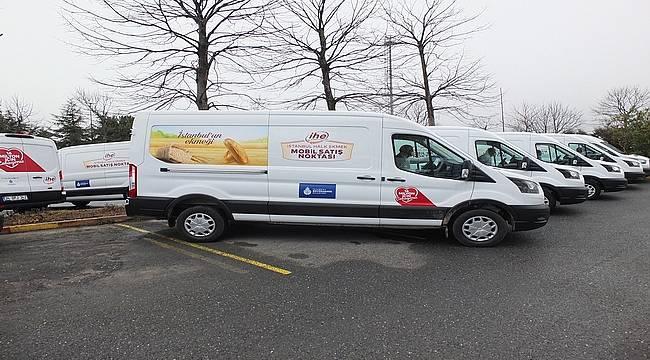 İBB, 40 yeni mobil ekmek büfesini hizmete aldı