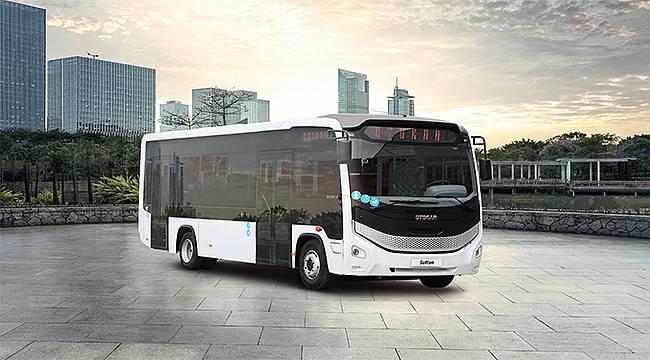 Otokar'dan Gürcistan'a 117 adet Sultan LF otobüsü