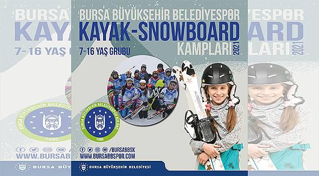 Uludağ'da Kayak-Snowboard kampları için kayıtlar başlıyor