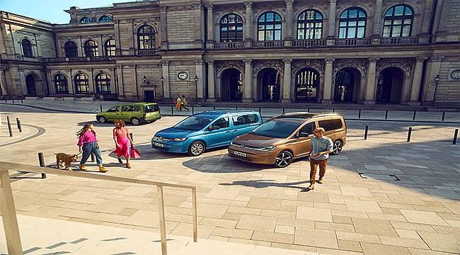 Volkswagen Caddy'nin beşinci nesli Türkiye pazarında...