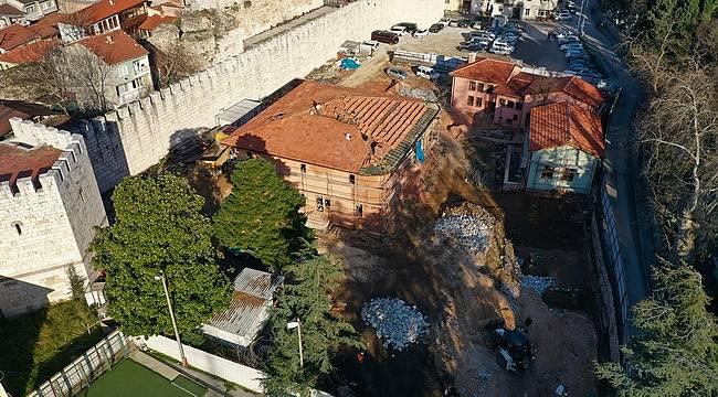 Bursa Mevlevihane'nin son yapısında kazı bitti, imalat başladı