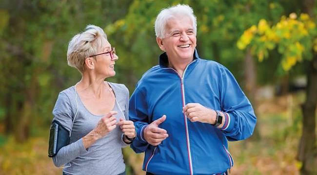 65 yaş ve üzeri vatandaşlara açık havada spor yapma imkanı...