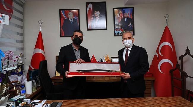 Başkan Zolan'dan MHP'ye ziyaret