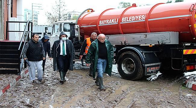 Bayraklı Belediye Başkanı Serdar Sandal: 16 Saattir Sahadayız!