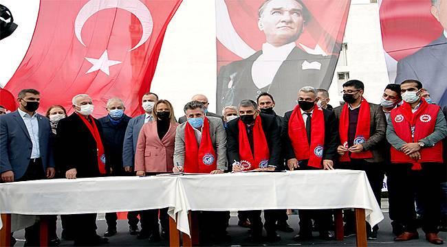 CHP'li Bayraklı Belediyesinde en düşük maaş 5 bin 200 TL oldu!