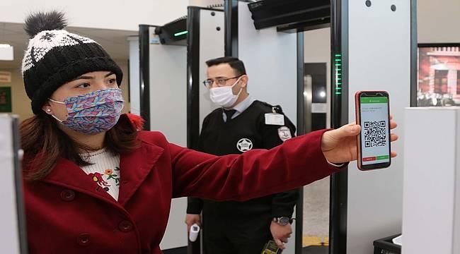 Bayraklı Belediyesinde koronavirüse karşı dijital önlem