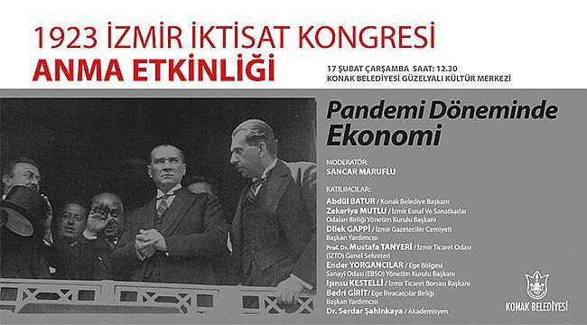 İzmir İktisat Kongresi'nin 98. yıl dönümüne özel anma