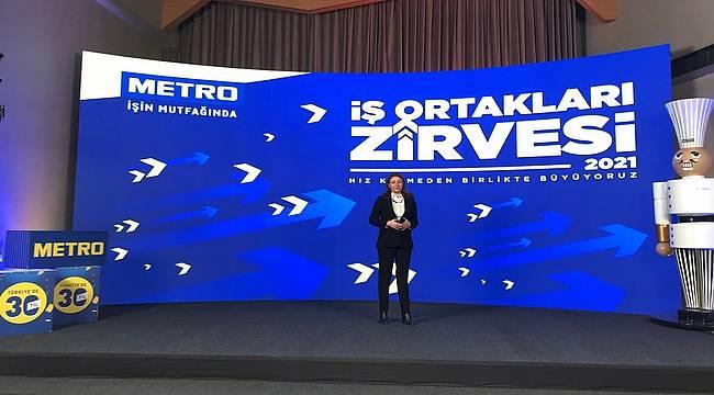 Metro Türkiye, İş Ortakları Zirvesi'nde tedarikçileriyle bir araya geldi