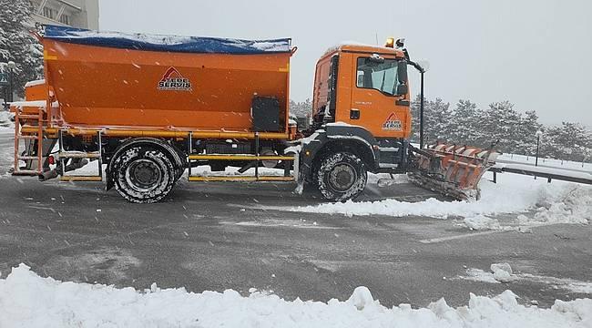 Tepe Servis ve Yönetim, Kar Yağışıyla Mücadelede24 Saat Müşterilerinin Yanında!