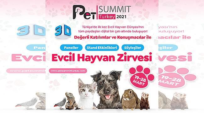 Türkiye'nin İlk 3D Dijital Pet Fuarı ve Zirvesi