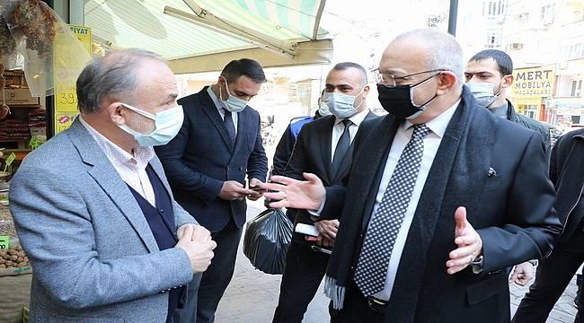 """Başkan Ergün'den """"Rehavete Kapılmayalım"""" Uyarısı"""