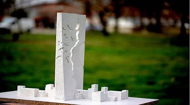 Lüleburgaz'ın Göç Anıtı jürinin oylarıyla belirlendi