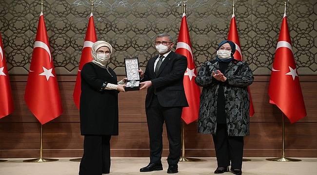 Üsküdar Engelsiz Yaşam Merkezi'ne Sürdürülebilirlik Ödülü!