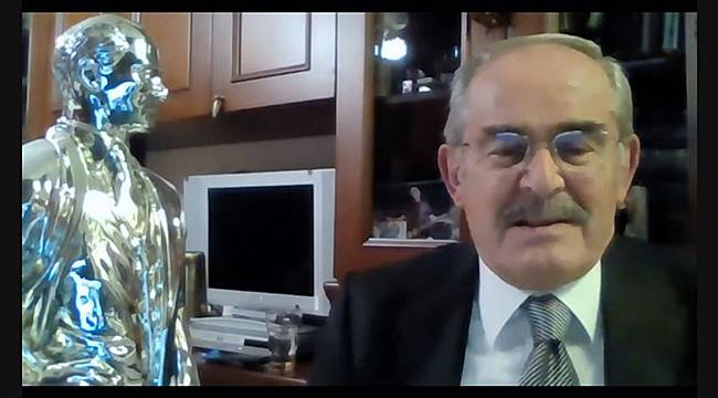 Başkan Büyükerşen'e Atatürkçü Düşünce Hizmet Ödülü