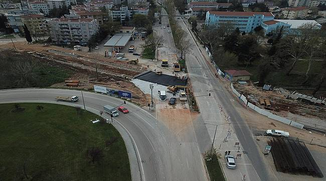 Bursa Büyükşehir Belediyesi ulaşım yatırımlarında hız kesmiyor