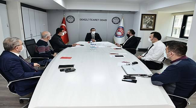 """DTO Başkanı Erdoğan: """"Emlakçı üyelerimizin yanındayız"""""""