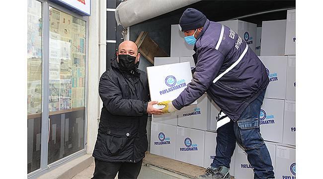 Eskişehir Büyükşehir Belediyesi yardımları ulaştırmaya devam edecek