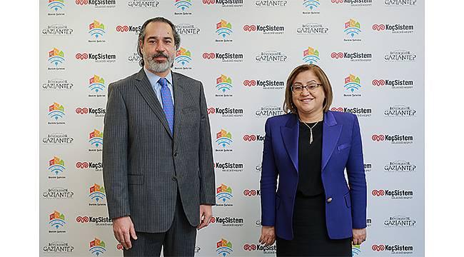 Gaziantep Büyükşehir Belediyesi ile KoçSistem'den akıllı şehir iş birliği