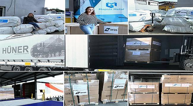 """""""Kadın İçin Taşıyoruz"""" projesi Kayseri'deki ihracatçılara da tanıtıldı"""