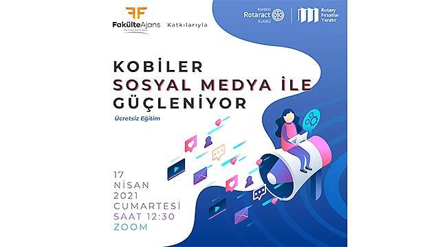 Kordon Rotaract Kulübü'nden KOBİLERE sosyal medya eğitimi