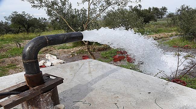 Manisa'ya 6,5 Milyon Metreküplük Su Kaynağı