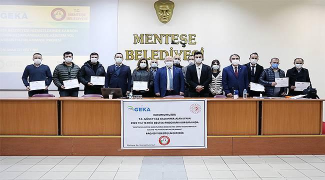 Menteşe Belediyesi Personeline Karbon Ayak İzi Eğitimi Verildi
