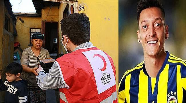 Mesut Özil'den 100 bin Euro'luk Ramazan yardımı