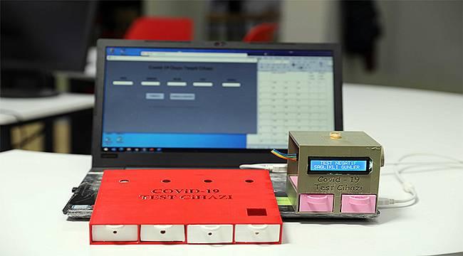 Sanko Okulları öğrencileri koronavirüs duyu test cihazı geliştirdi