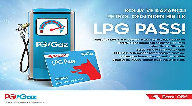 Türkiye'nin ilk ve tek LPG'li Filo Yönetim Sistemi: LPG Pass