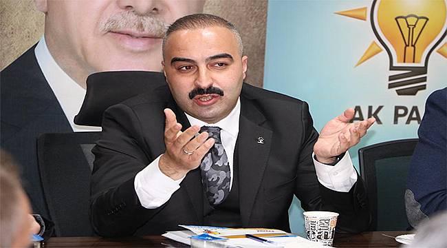 """AK Parti Torbalı İlçe Başkanı Selman Günaydın: """"CHP'nin telaşı, suçluluk psikolojisinden"""""""