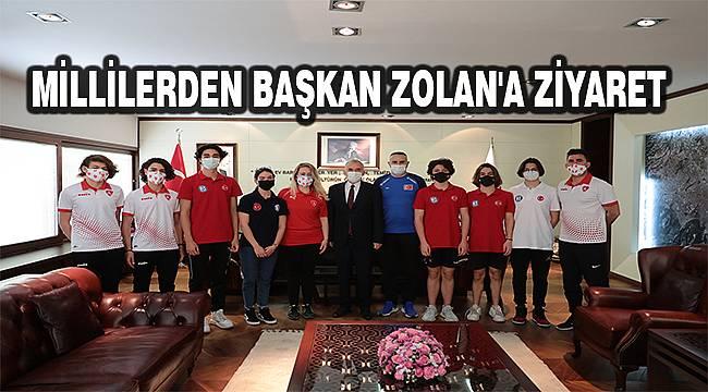 """Başkan Osman Zolan: """"Yatırımlarımızın meyvelerini almak bizleri mutlu ediyor"""""""
