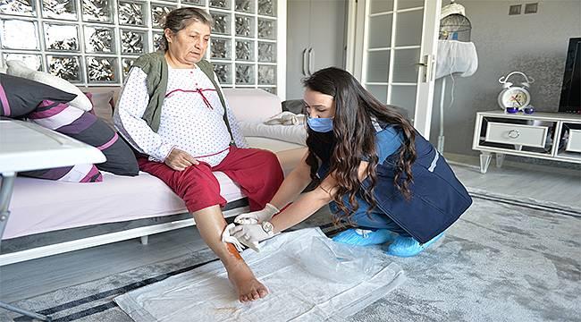Bursa Büyükşehir Belediyesi hastalıkta ve sağlıkta vatandaşın yanında