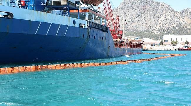 Antalya Büyükşehir'den denizi kirleten gemiye 1 milyon 566 bin lira ceza