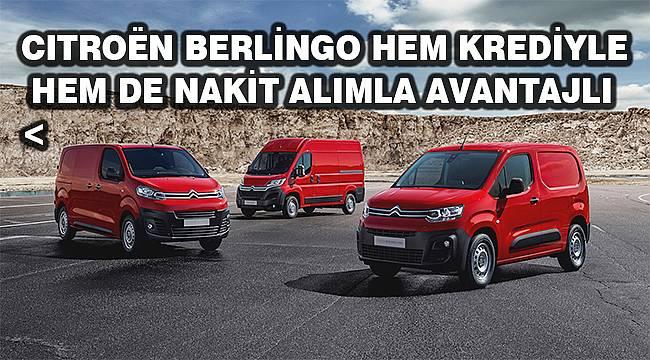 Citroën'den 0 Faizli Ticari Araç Kampanyası!