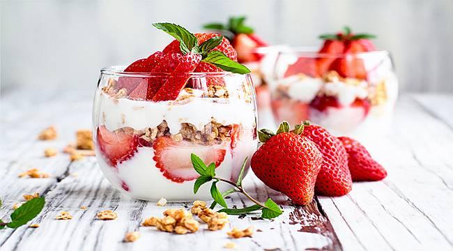 Dikkat! Tatlınızı yoğurtla tüketirseniz...